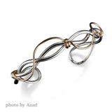 C11CO - Mixed Metal Barbed Wire Cuff
