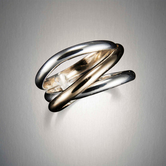 R33C0 - Journey Ring- Mixed Metal