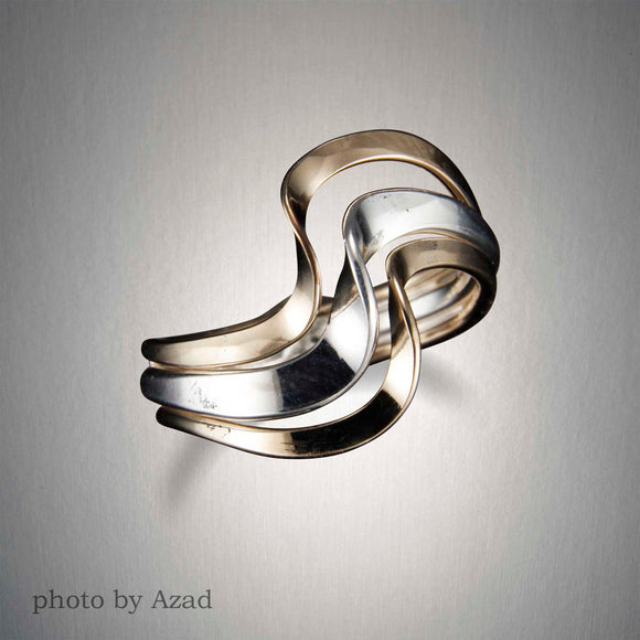 R40CO - King Tides Ring - Mixed Metal