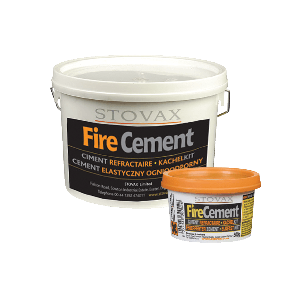 Stovax Black Fire Cement 500g Tub