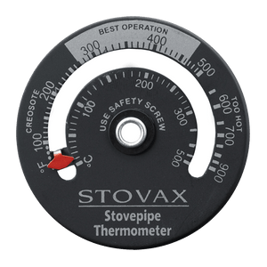 Stovax Magnetic Stove Pipe Thermometer