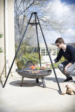 Load image into Gallery viewer, La Hacienda Tripod with Hanging Grill