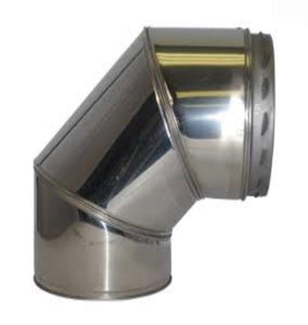 SFL Sflue Twin Wall Flue System - 15°/30°/45°/90° Elbow