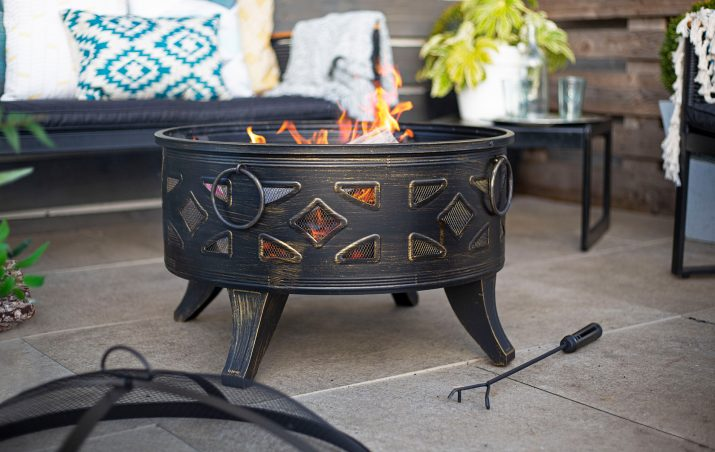 La Hacienda Diamond Firepit