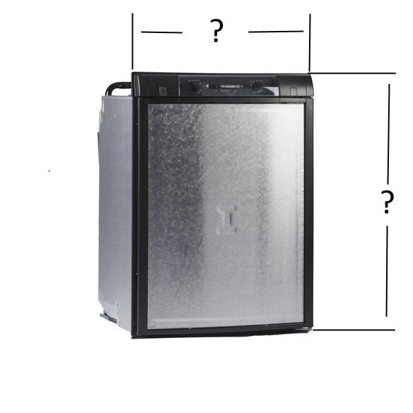 Fridge Size Comparisons - see which fridge will replace your current model