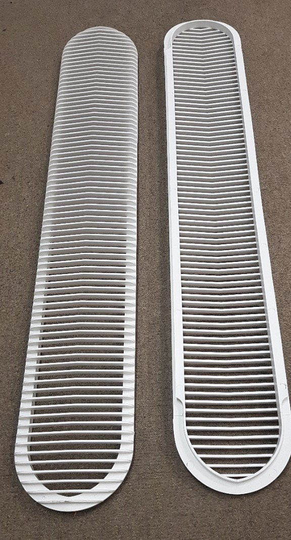 2 x Aircommand Ibis Condenser Grills for the side of the Aircon Aircommand