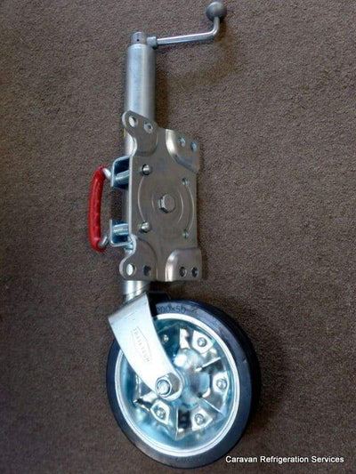 "ALKO Trailtech Jockey wheel 8"" with Swivel Bracket - genuine AL-KO ALKO"