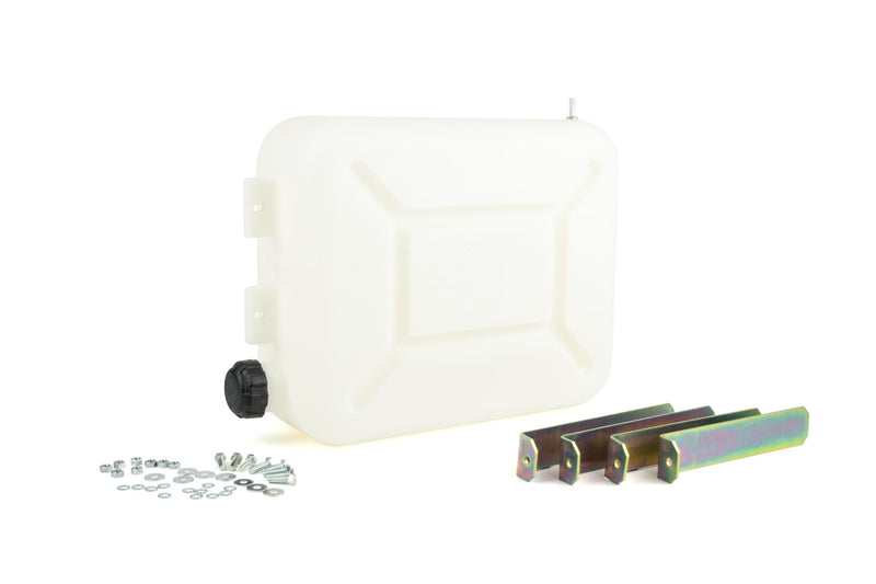 Autoterm Fuel tank 13l - with mounting brackets - White Autoterm
