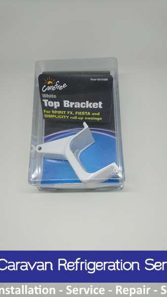 CAREFREE Awning WHITE TOP BRACKET. 901018W Carefree