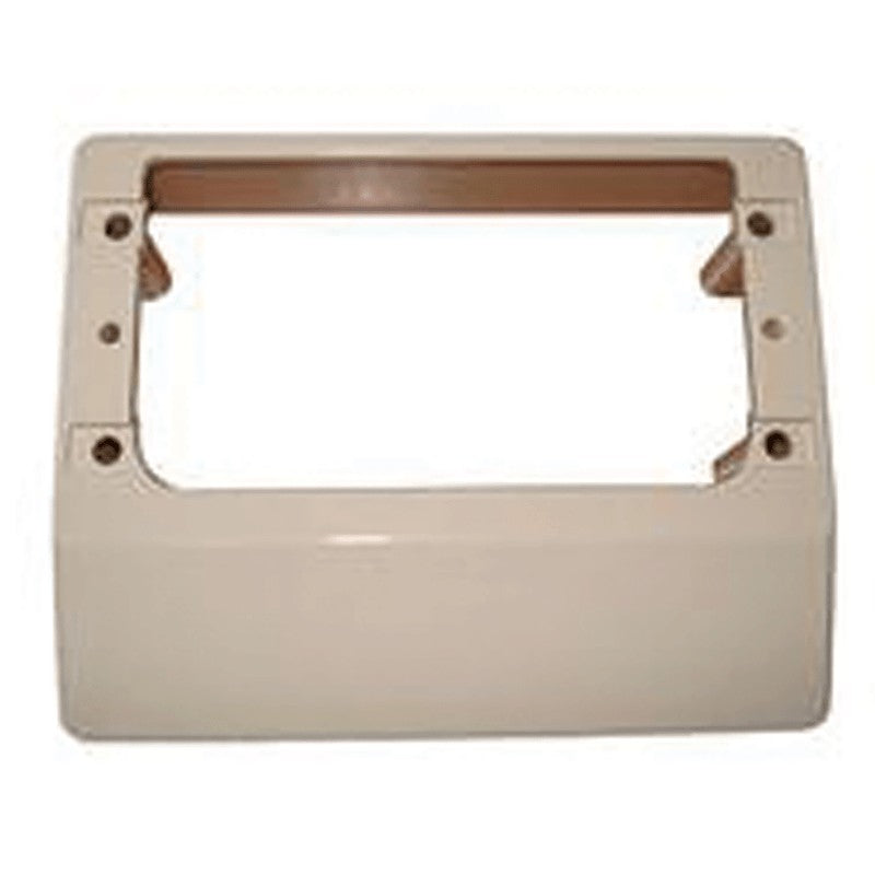 CMS MOUNTING BLOCK FOR OUTLETS+SWITCH PLATES BEIGE for Caravan 240 electrics CMS