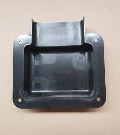CMS MOUNTING SHROUD FOR OUTLETS+SWITCH PLATES BLACK for Caravan 240 electrics CMS