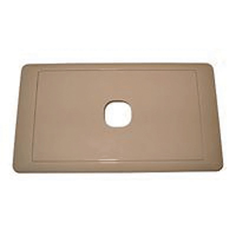CMS SWITCH PLATE SINGLE BEIGE for Caravan 240 electrics CMS