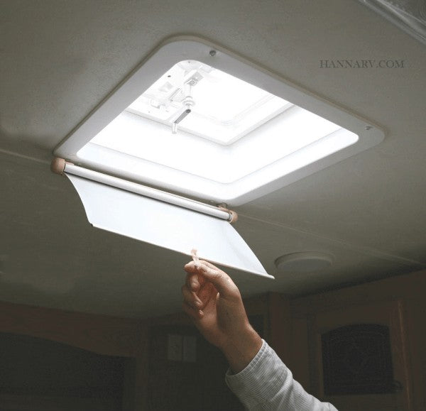 Camco Lights Out Retractable RV Roof Vent Shade Blind Camco