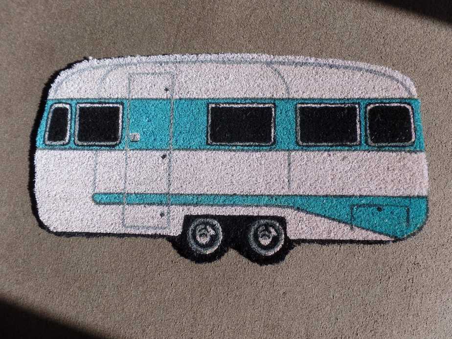 Caravan Design Door Mat for Caravan Motorhome Campers Everything Caravans