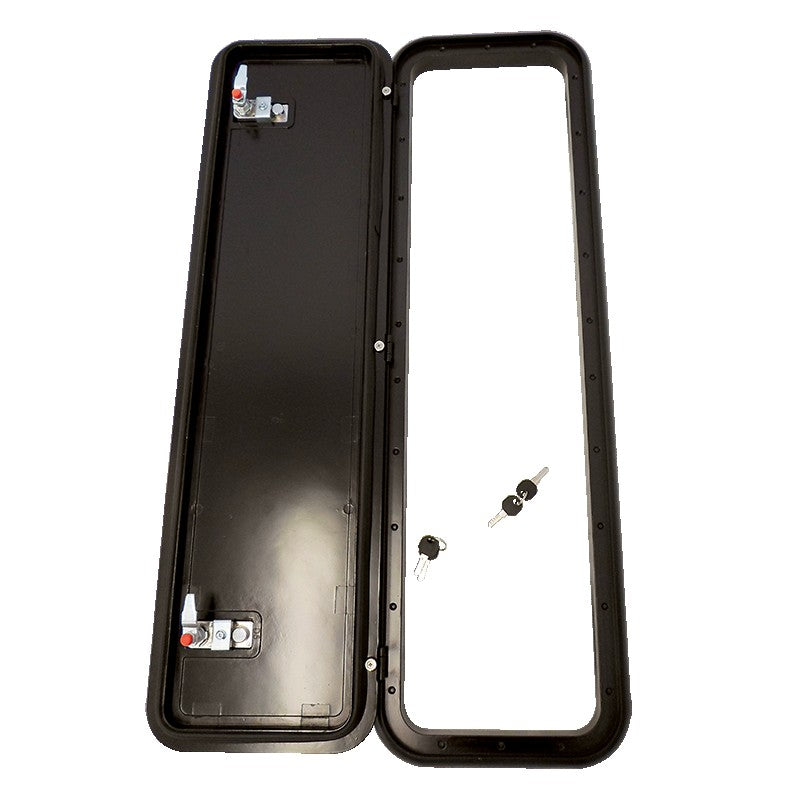 Coast Access Door 5 - Black 288 x 953 RV Hatch Coast to Coast