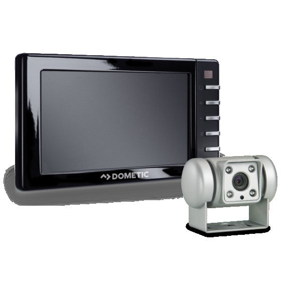 DOMETIC PERFECTVIEW RVS 545 REVERSING VIDEO SYSTEM WITH SILVER COLOUR CAMERA AND 12.7 CM MONITOR Dometic