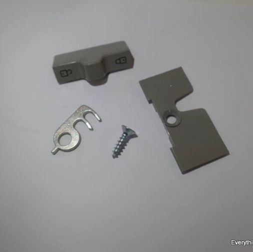 Dometic Replacement Door Lock RM7401 3 Way Fridge Caravan Beige - Grey Dometic