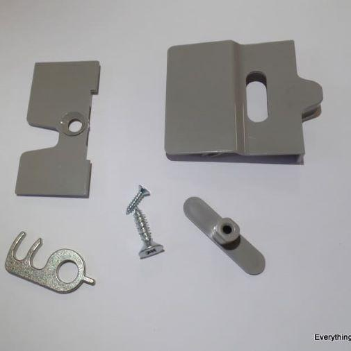 Dometic Replacement Door Lock RM7851 3 Way Fridge Caravan Beige - Grey Dometic