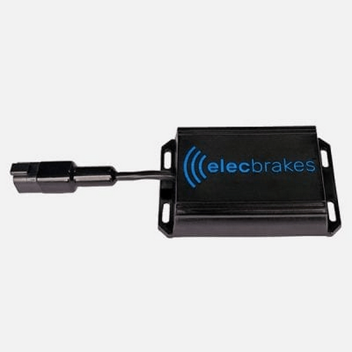 Elecbrakes Portable Electric Brake Controller for caravan - no wiring needed Elecbrakes