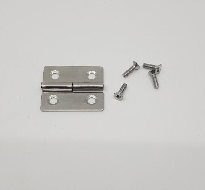 Engel Door Hinge stainless steel with screws 35-45FHA Engel