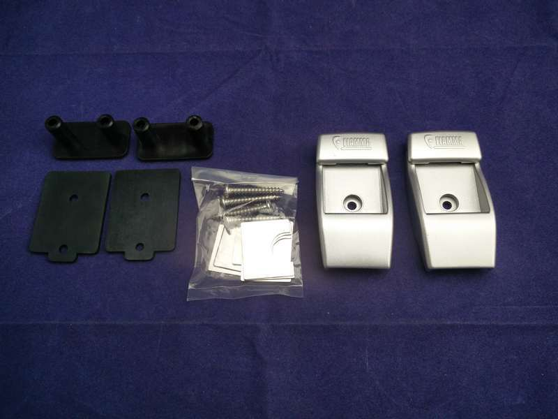FIAMMA ALU WALL BRACKETS FOR AWNING LEGS. 98655-728 Fiamma