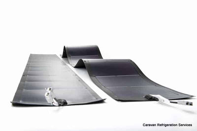 Flexopower 158 watt Thin Film Fexible Solar Panel, Amorphous Rollable, Heavy Duty Flexopower