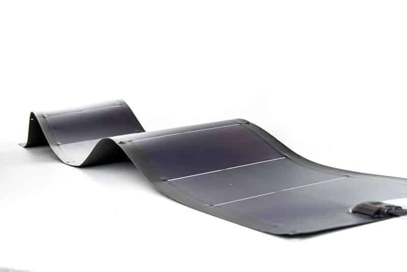 Flexopower 79 watt Thin Film Fexible Solar Panel, Amorphous Rollable, Heavy Duty Flexopower