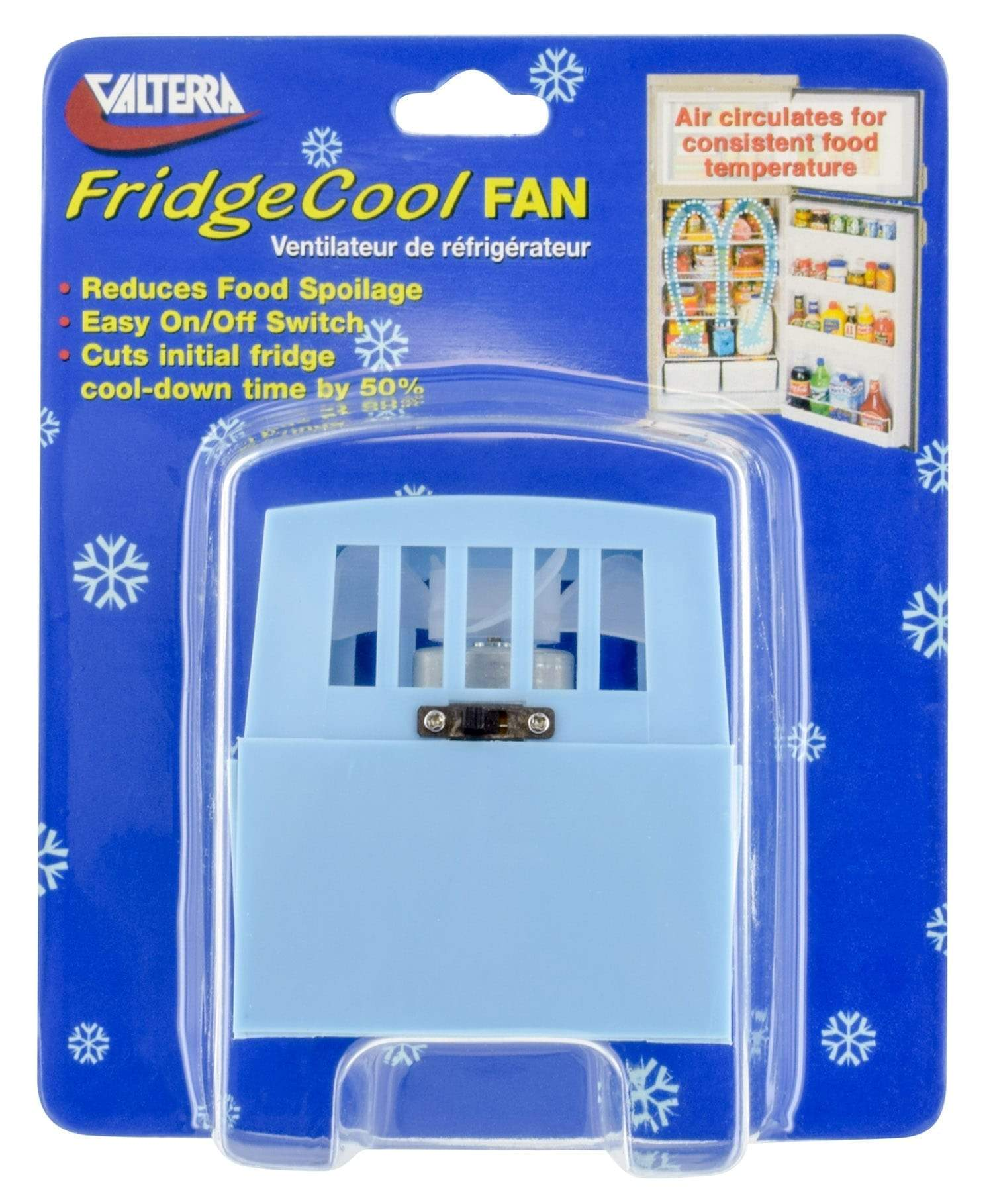 Fridge Vent Fan Valterra to circulate temperature evenly around your fridge Valterra