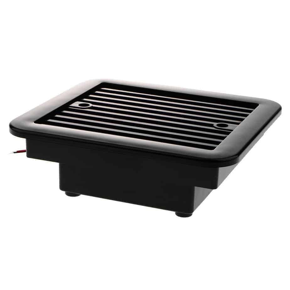 Fridge Venting Fan for 12volt fridge installs - Black Freezer