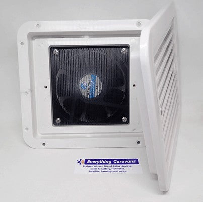 Fridge Venting Fan for 12volt fridge installs - White Freezer