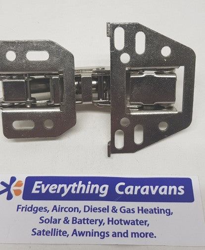 Horizontal mount hinge for Jayco Top cupboard with upward opening - soft close version Everything Caravans