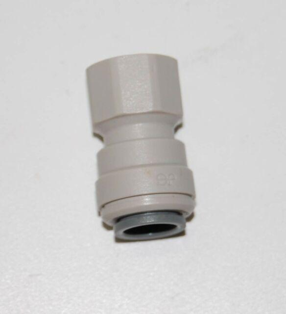 JG FEMALE PLASTIC CONNECTOR FOR 12MM x 3/8 FBSP. CM451213FS John Guest