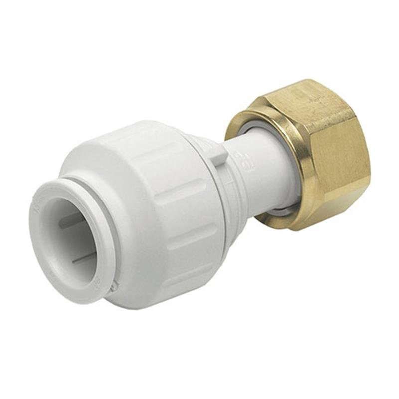 JG Watermark Straight Tap Connector 12mm PEMSTC1214 John Guest