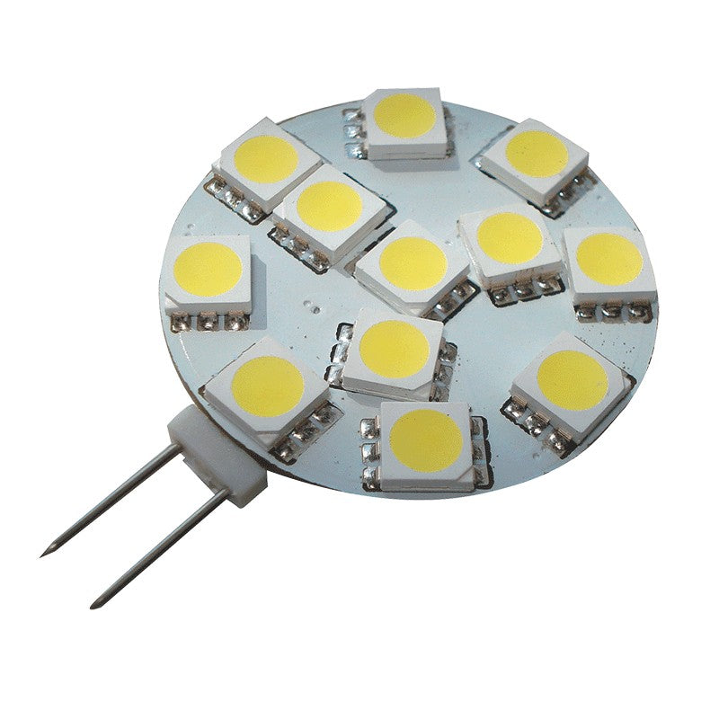 LED G4 Replacement Bulb With Side Pin - Cool White LED