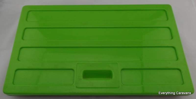 Lime Green Lid R40 Second Hand for 3 way Portable Fridge Dometic Chescold Dometic
