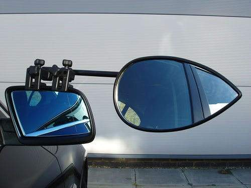 Milenco Aero 3 Extra Wide Caravan Towing Mirrors One Pair super stable Milenco