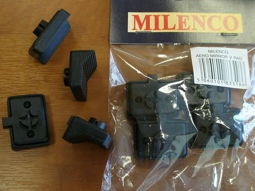 Milenco Replacement Aero V Pads Grand Aero Towing Mirror 4pk Milenco
