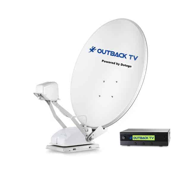 OUTBACK TV POP UP RV-85A Auto Satellite Dish Outback TV