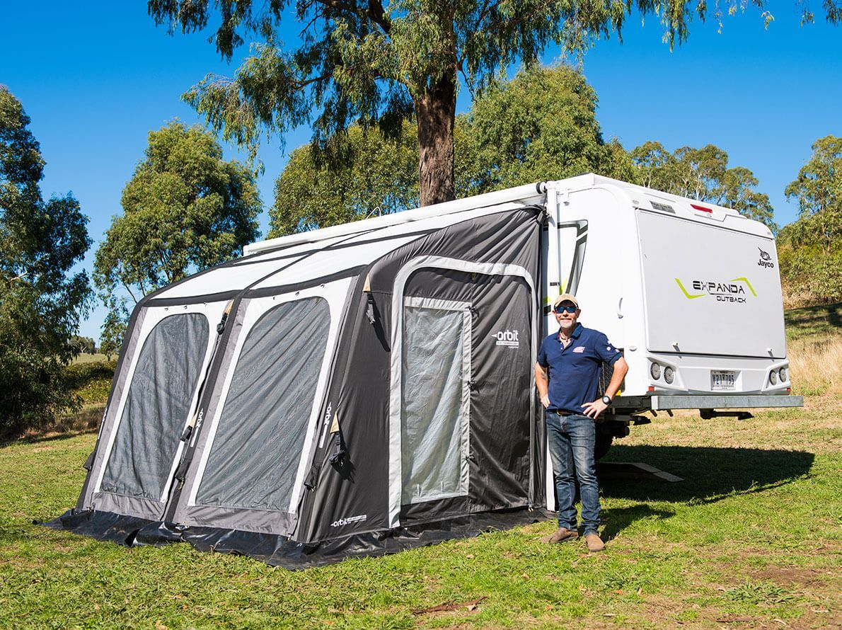 Orbit® Air Comet Annexe for Jayco Camper Trailers and Others Orbit