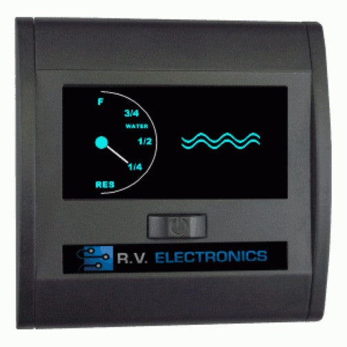 RV Electronics LCD Single Water Level Indicator Gauge RV Electronics