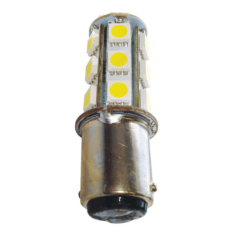 Replacement LED Bulb 18 LED Double Connector BA15D LED