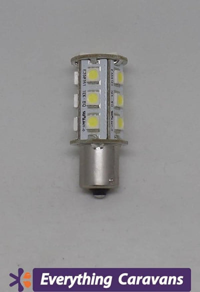 Replacement LED Bulb 18 LED Single Connector BA15S LED