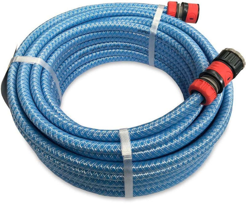 Supex 10M COIL DRINKING WATER HOSE including fittings - food grade Everything Caravans