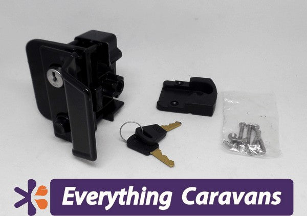TRIMATIC lock for older style caravan door Camec