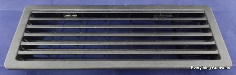 Thetford Black Lower Fridge Vent for Electrolux Dometic Thetford 3 way Caravan Fridge Thetford