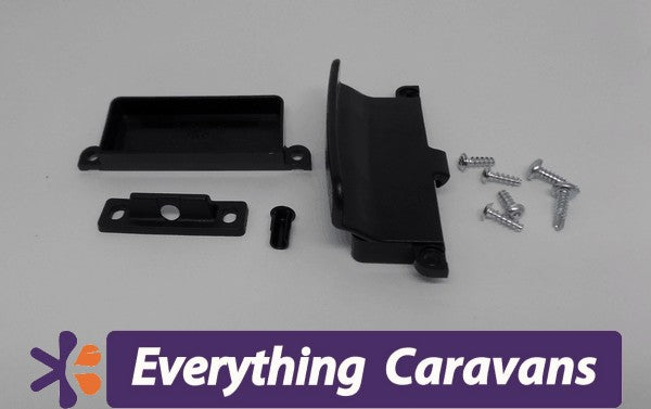 Thetford Main fridge door latch Black Thetford