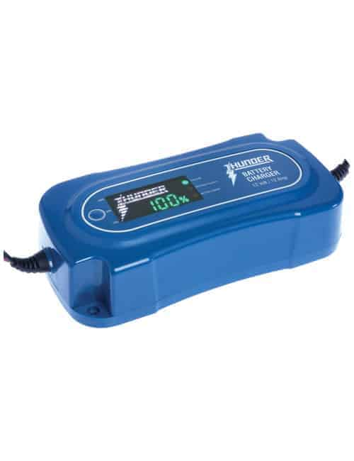 Thunder 8 Stage Battery Charger 12 Amp 12volt Thunder