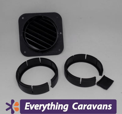 Truma Swivel air outlet Black suits All Diesel Heaters and Aircons Truma