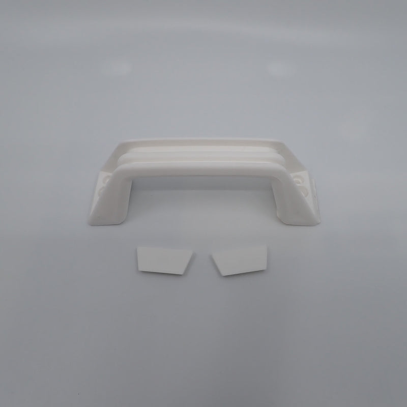 VECAM Grab Handle White for use on Campers and Caravans Camec