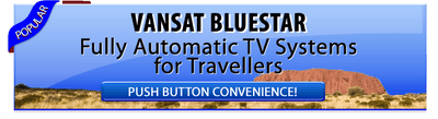 Vansat BLUESTAR Automatic Satellite Dish System - Full Australia coverage Vansat